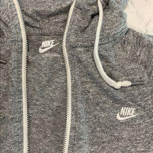 Nike Vintage Grey Zip Up XS